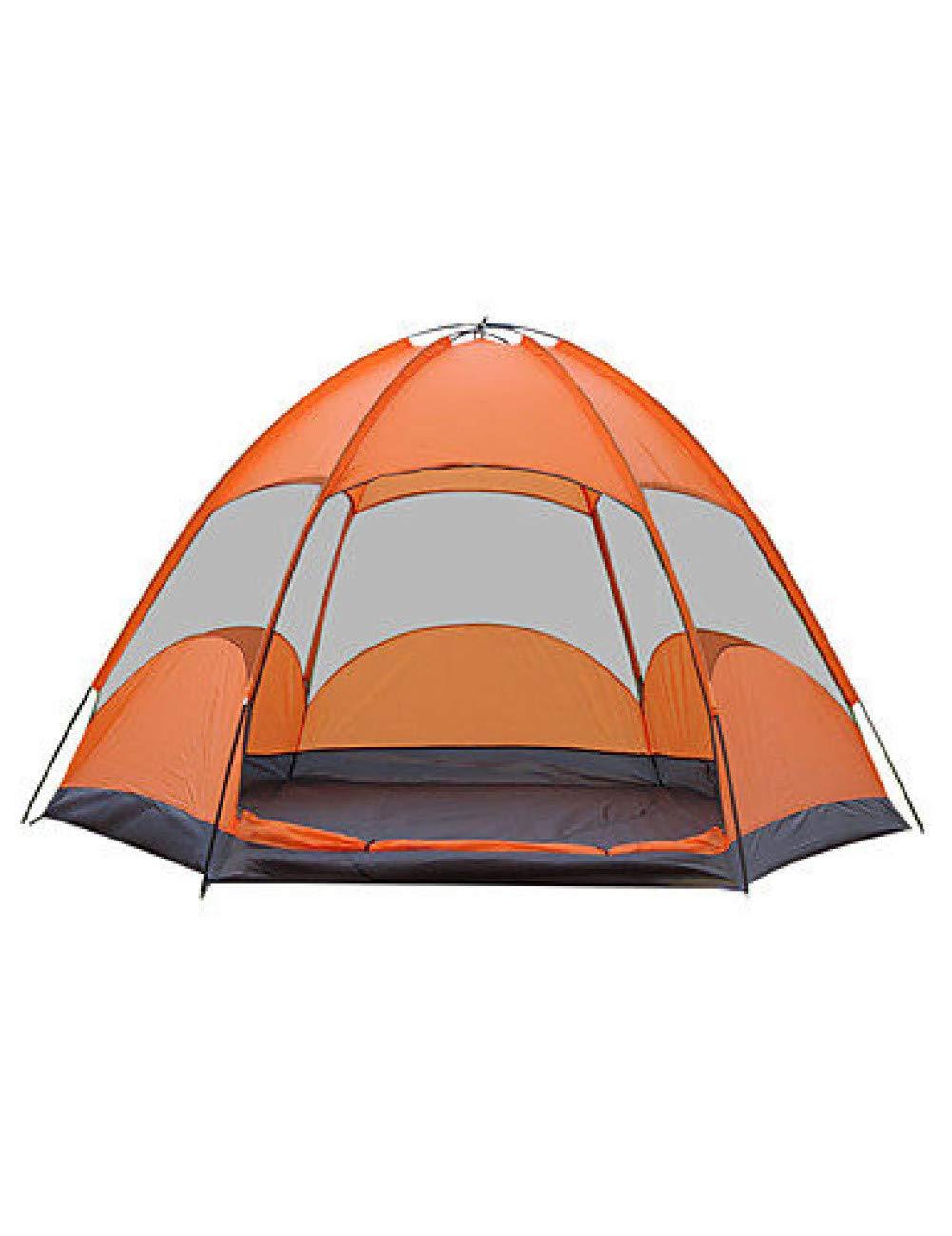 MDZH Carpa 3-4 Personas Pantalla Exterior Equip Hiking Camp Ultralight Tent TouristSuministros APrueba De Agua