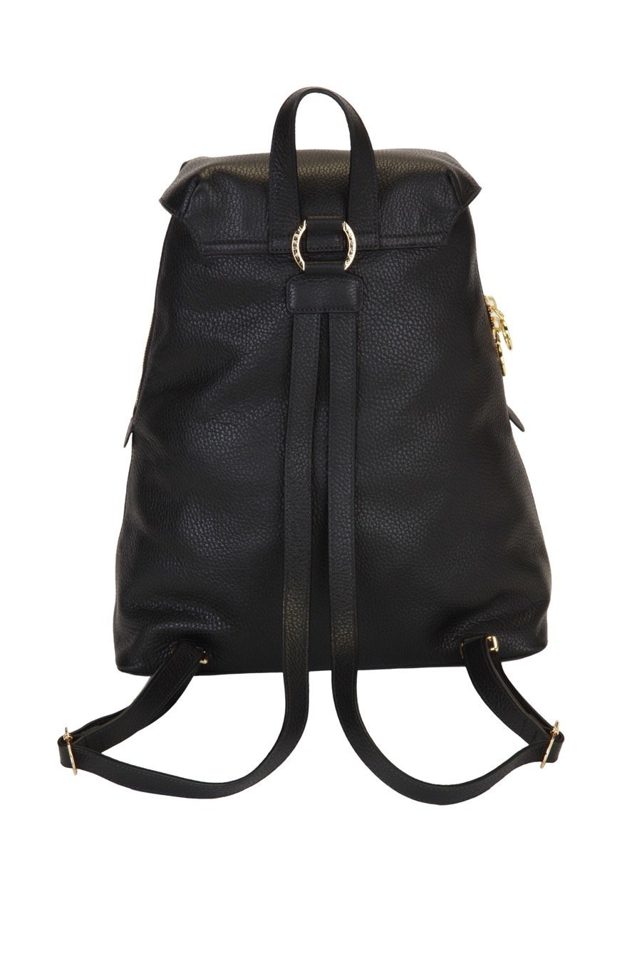 Genuine Italian Leather Bella Backpack - Lauren Cecchi New York - Lipstick Red Interior - Stylish Designer Bag With Adjustable Shoulder Straps by Lauren Cecchi New York (Image #3)