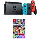 Nintendo Switch Neon Blue + Mario Kart 8