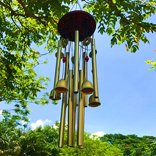 Large Wind Chimes Outdoor Wind Chimes Garden 10 Tubes 5