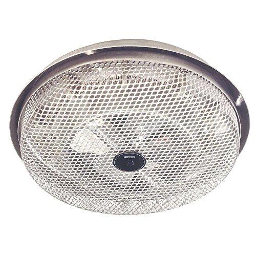 Mount Ceiling Fan Bathroom - Broan Model 157 Low-Profile Solid Wire Element Ceiling Heater