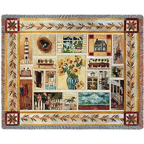 Pure Country Weavers Floral Tapestry (Pure Country Inc. American Country Blanket Tapestry Throw)