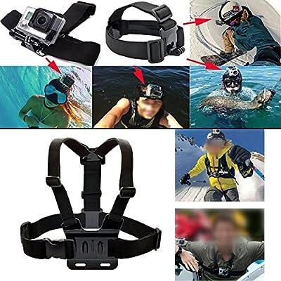 MCOCEAN GoPro Accessories Kit for GoPro Hero 4/ 3+/ 3 Camera