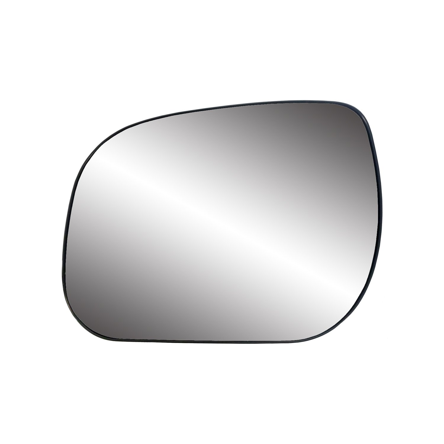 Fit System 80225 Toyota RAV4 Right Side Power Replacement Mirror Glass with Backing Plate