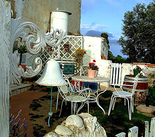 Home Comforts Canvas Print Yard Patio Table Furniture Backya