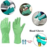 SHOP BY ROOM House Hold Cleaning Synthetic Rubber Hand Gloves for Kitchen Cleaning,Washing (SBRRG00001_3)