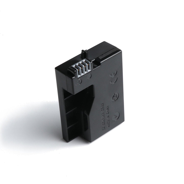 ACK-8 DR-E8 Acoplador de CC Adaptador de corriente USB C/ámara Kit de bater/ía simulada para Canon EOS 550D 600D 650D 700D Beso X4 X 5 X6 T2i T3i T4i T5i C/ámara r/éflex digital