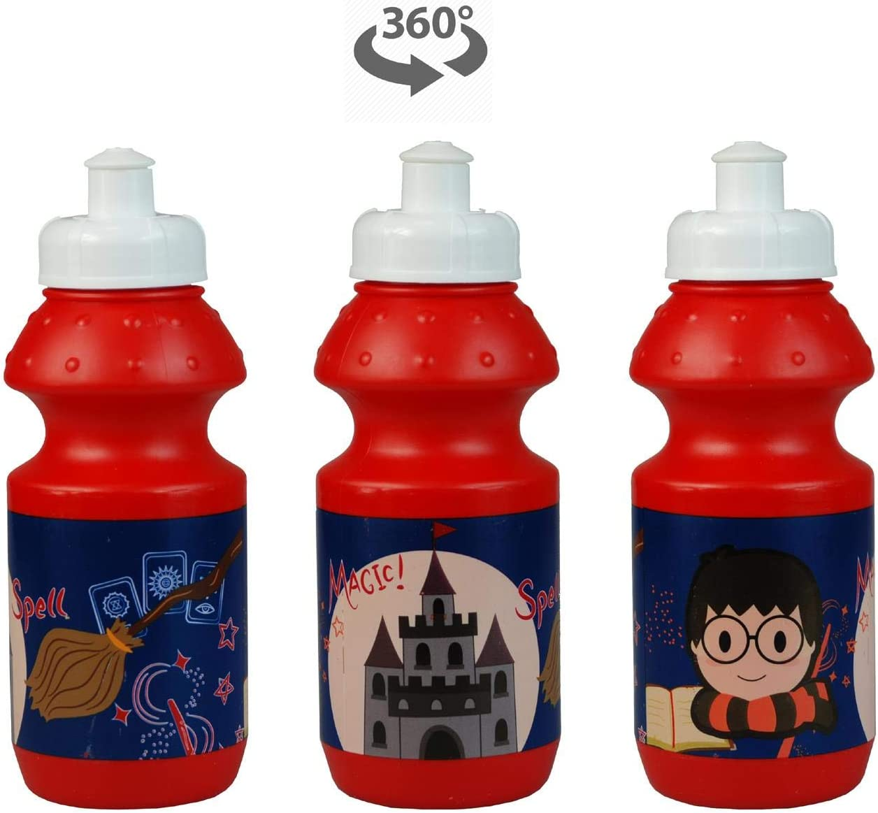 Harry Potter 8PC Back to School Bundle Sandwich Box Insulated Lunch Bag Drawstring Sports Bag inc Backpack Pencil Case /& Stationery Set. Coin Pouch Water Bottle