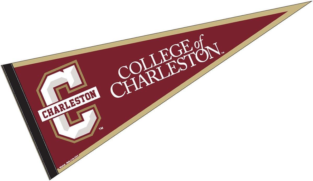 College of Charleston 12x30 Felt Pennant