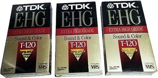 Renewed Discontinued by Manufacturer Fuji 23021121 HQ T-120 VHS Video Cassette