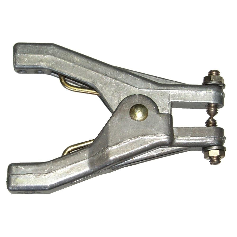 Lind Equipment REB Static Grounding Hand Clamp, Stainless Steel Points, Heavy Duty