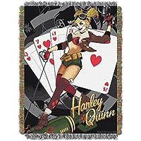Bombas de DC de Northwest Company: manta de tapiz tejida de Harley Quinn