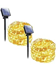 G40 Globe String Lights with 25 Clear Glass Bulbs-UL Listed Vintage Indoor/Outdoor Lights