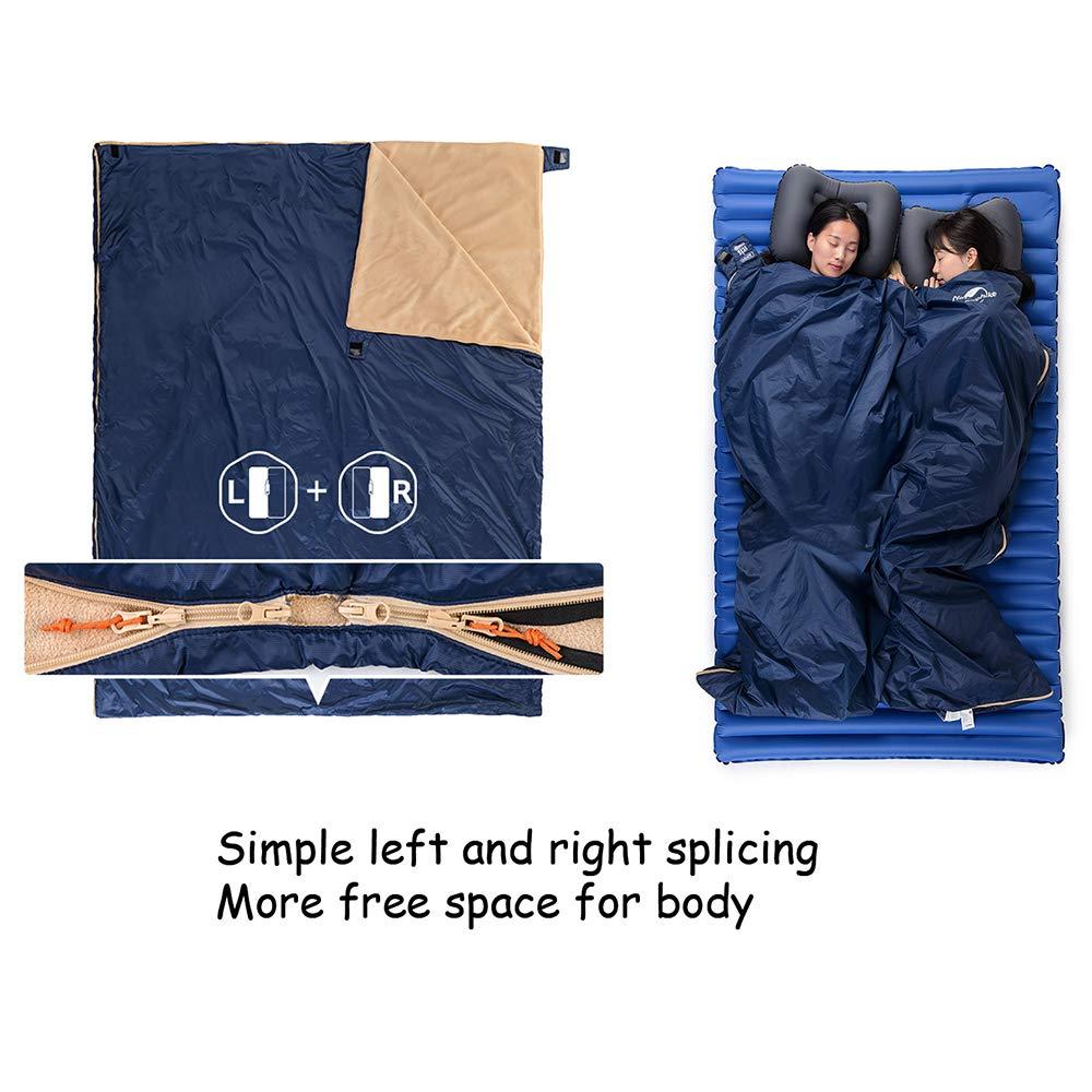 a compressione Queta Sacco a pelo impermeabile e leggero escursioni viaggi allaperto per campeggio