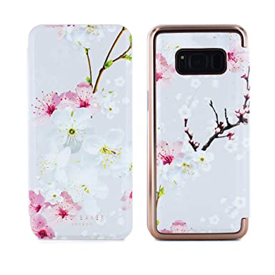 8d56c2fcbd35af Ted Baker Official SS17 Samsung Galaxy S8 - Luxury Folio Case Cover in  Flower Design