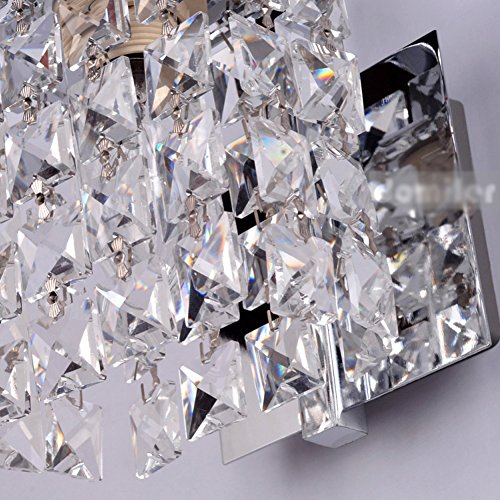 Jorunhe Modern Crystal LED Wall Lights Aisle/Bedside/Bar lights Wall Sconce by Jorunhe (Image #2)