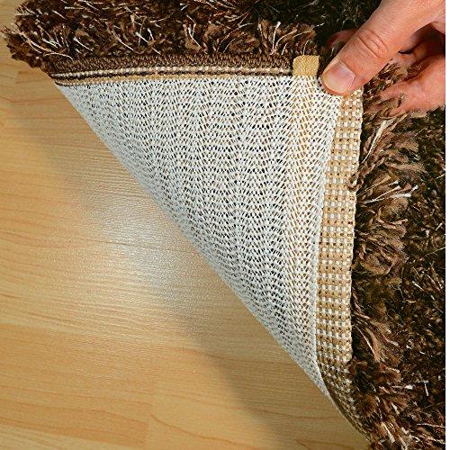 HAFTPLUS Teppichunterlage Anti-Rutsch-Matte - Haftet Ohne Zu Kleben - Rutschfest Zuschneidbar Größe 120 x 180 cm