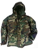 US Military General Issue ECWCS Gore-Tex Rain Parka, Woodland