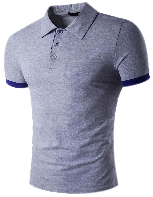 Polos Camisetas Manga Corta Hombre Camiseta Polo T Shirts Verano Camisas  Slim Fit Casual Blusas Para ac86920948f