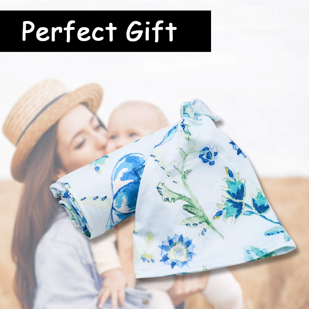Stretchy Baby Car Seat Cover Canopy with Matching Hat Soft Nursing Cover Breastfeeding Scarf Black and White Stripe Infant Carrier Cover for Boys and Girls