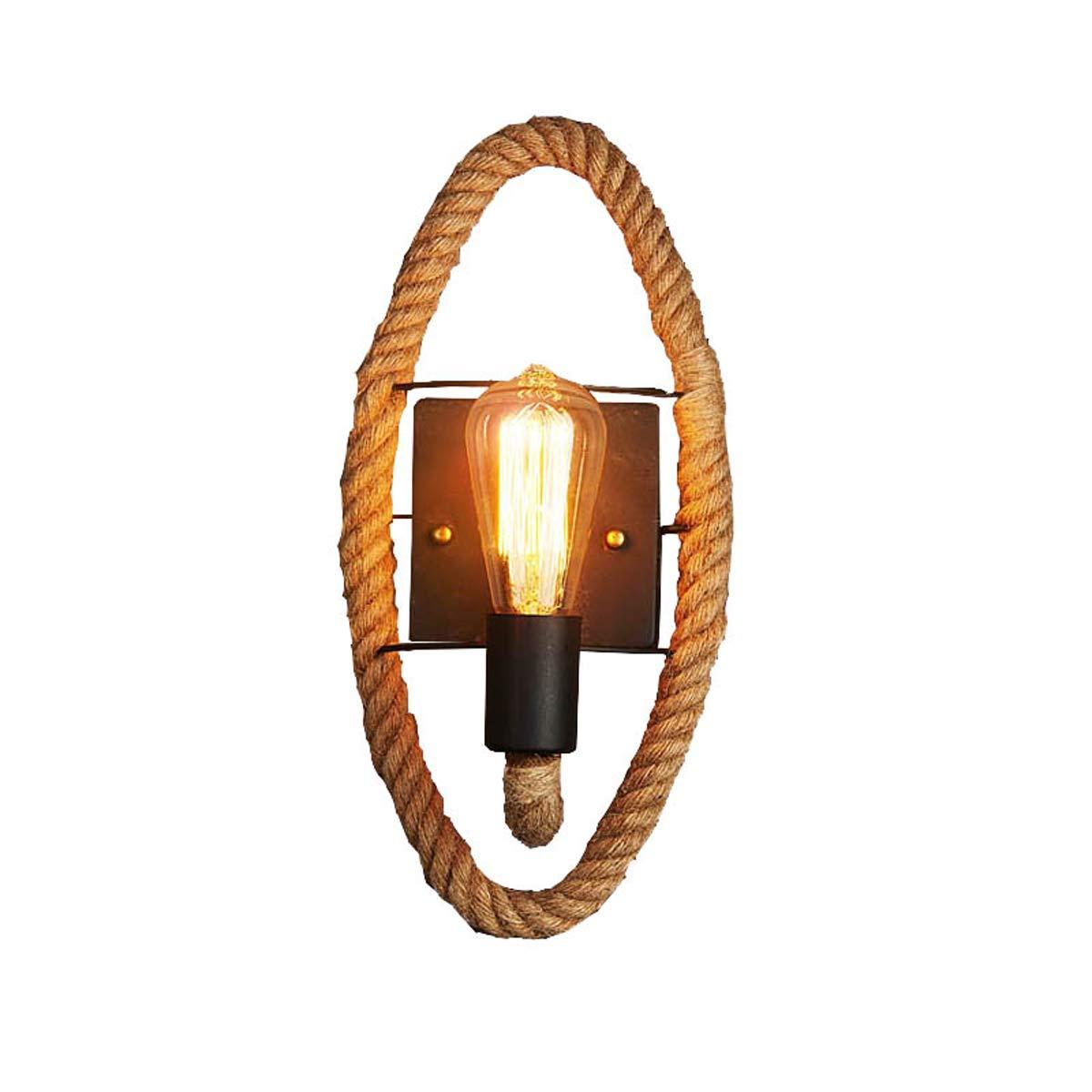 RMXMY Kreative Persönlichkeitsschlafzimmerrestaurantbarcaféhallbalkontreppenhausmode schmiedeeiserne industrielle Windseil-Wandlampe
