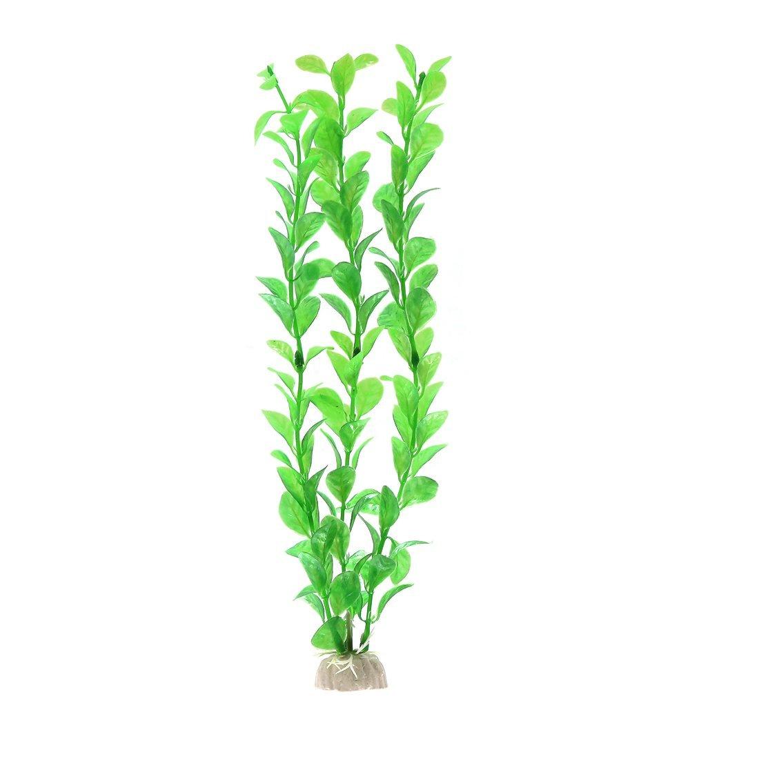 Amazon.com : eDealMax Ornamento planta 3 piezas de plástico Verde Paisaje Submarino Árbol Para peces de acuario tanque : Pet Supplies