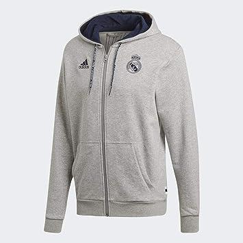 Amazon.com: adidas 2019-2020 Real Madrid - Sudadera con ...