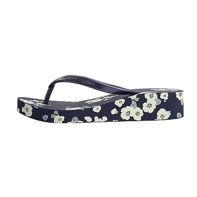 b26eee8b2a88 IVAN BENNO Women flip Flops Fashion Beach Slippers Thong Sandals with Heels  for Women Navy Blue