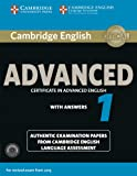 Cambridge English Advanced 1 for Revised Exam from 2015 Student's Book Pack (Student's Book with Answers and Audio CDs…