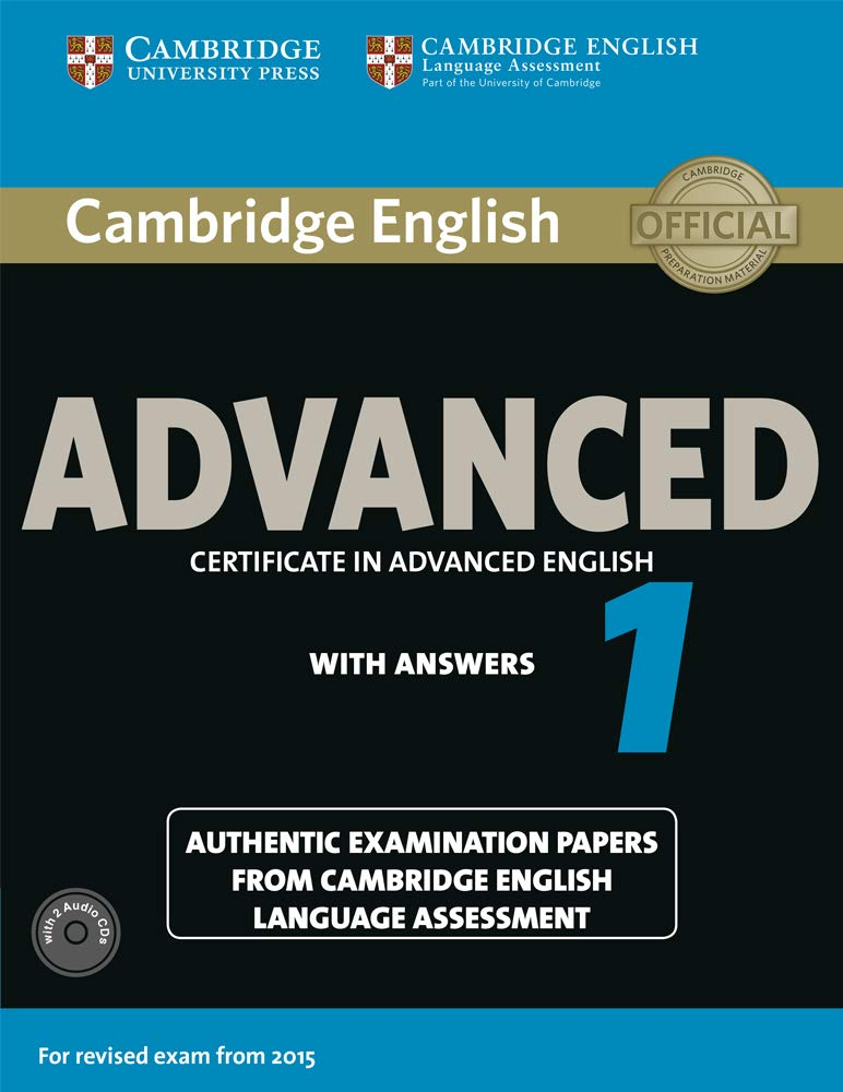 Advanced 1. Practice Tests with Answers and Audio CDs.: Amazon.es ...