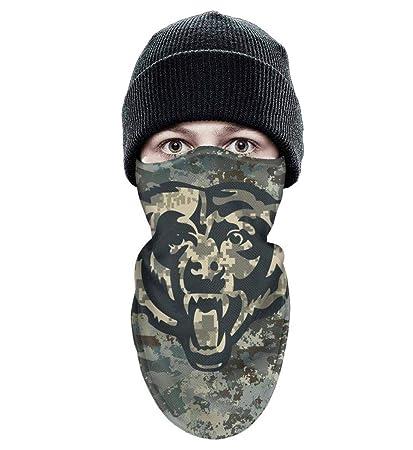 RHARAD Half Balaclava Fleece Winter Warm Camouflage Camo Face Cover for  Mens Womens 406b767c74