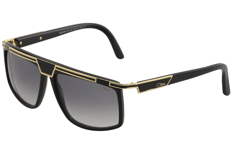 13cbf5a627 Cazal Legends Men s 8036 001 Black Gold Fashion Square Sunglasses 62mm   Amazon.co.uk  Clothing