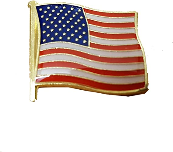 American Flag Pin USA United States of America