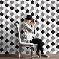 laonBonnie Fliesenaufkleber Selbstklebende Diagonale Aufkleber Fliesenboden Wandaufkleber Fliesenaufkleber Badezimmerfliesen 3D-Abziehbilder Wohnkultur-A