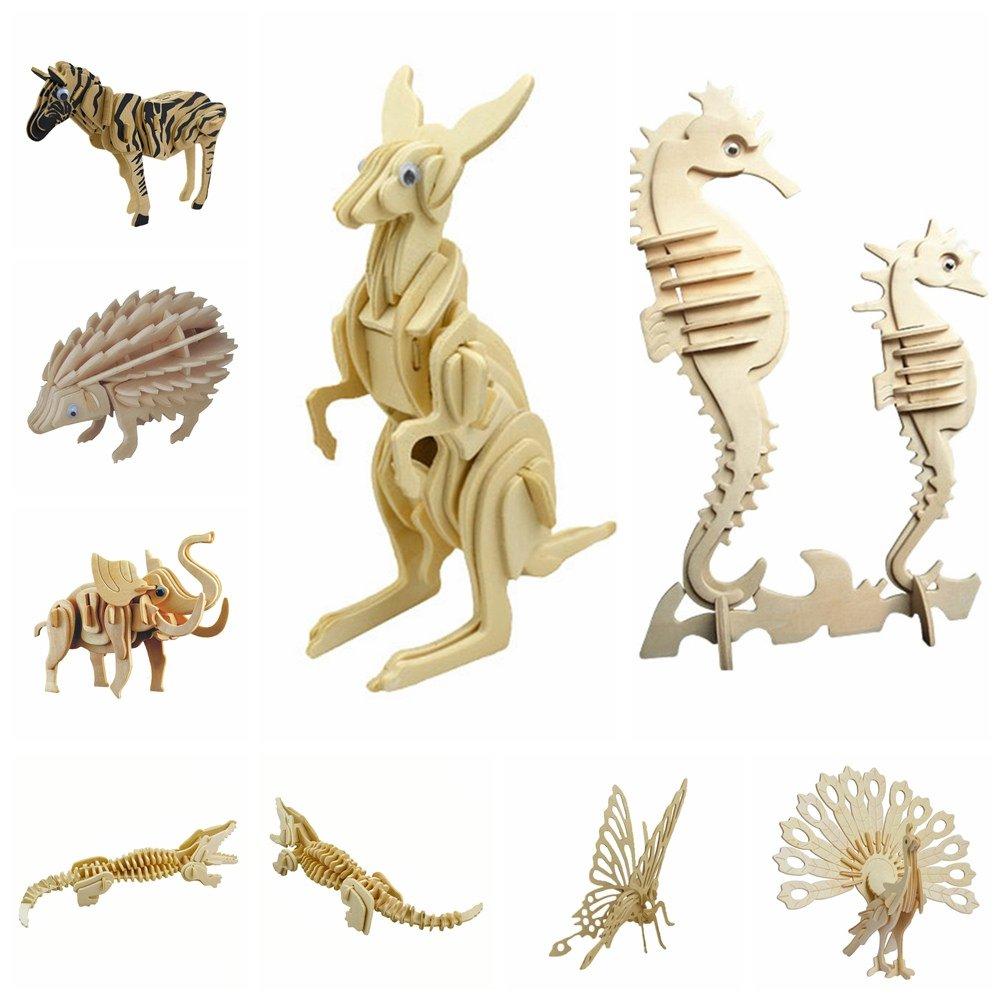 【送料無料】 Remeehi Remeehi 3d木製アセンブリパズルモデルシミュレーション動物象おもちゃfor子供用と大人用(キリン) B07FVLFT3M, 音羽町:961e14a4 --- a0267596.xsph.ru