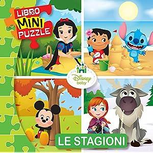 Le Stagioni Disney Baby Libro Mini Puzzle