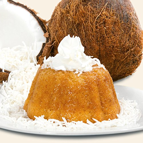 Mayan Fiesta Golden Rum cake, 4 ounce (Fresh Coconut)