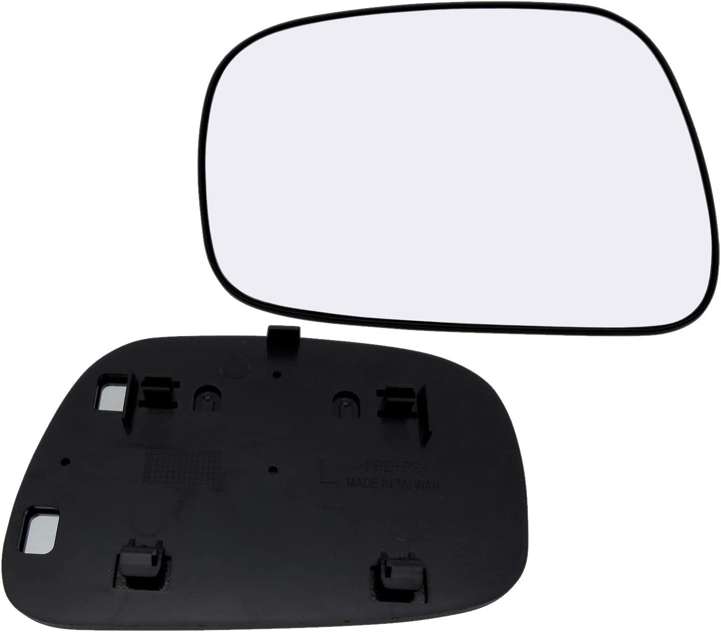 New Replacement Driver Side Mirror Glass W Backing Compatible With 2002-2006 Toyota Camry Sold By Rugged TUFF