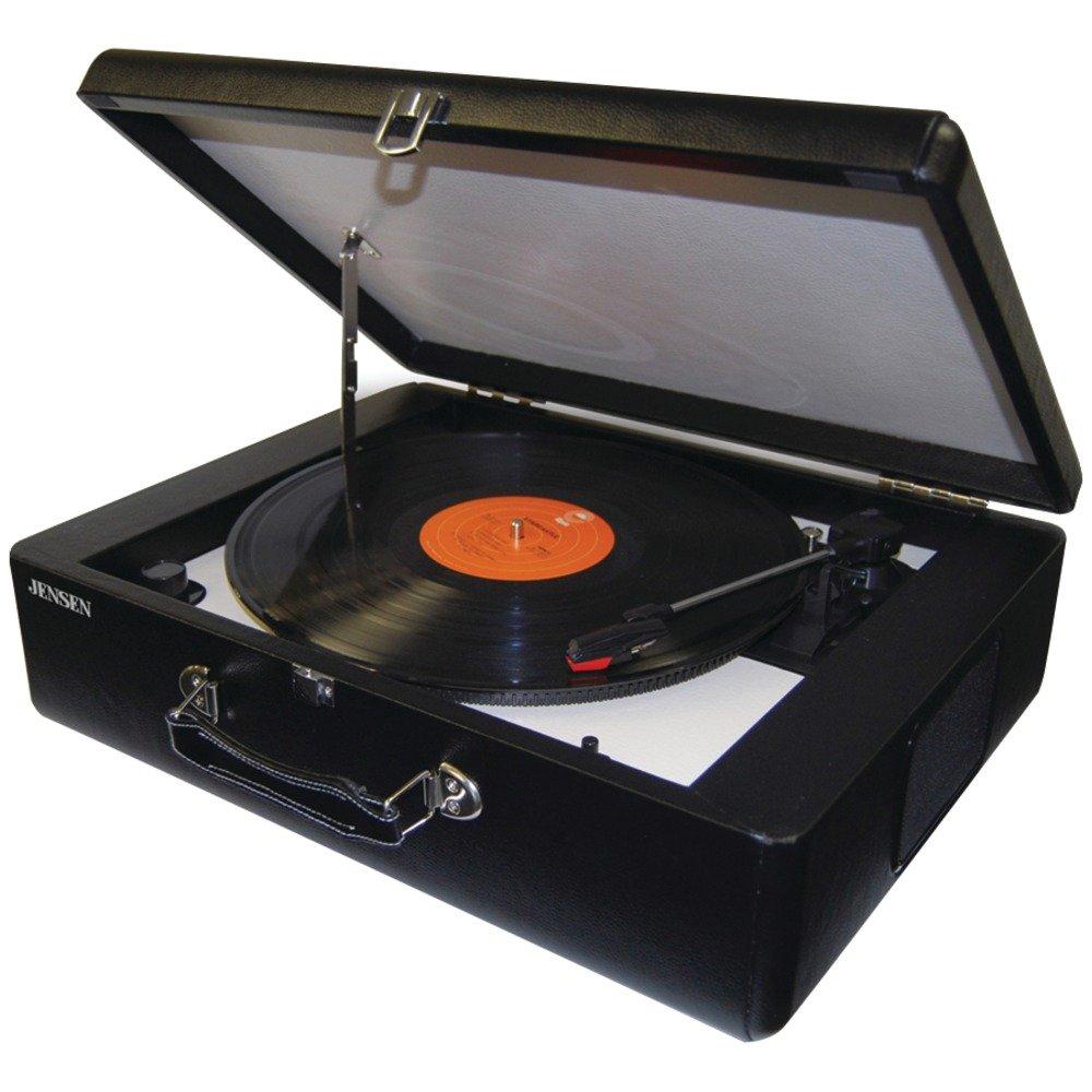 High Quality Amazon.com: Jensen JENJTA420 JTA 420 Portable Turntable With Built In  Speakers.: Home Audio U0026 Theater