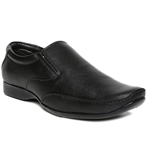62feeb615 PARAGON MAX Men s Black Formal Shoes  Buy Online at Low Prices in India -  Amazon.in