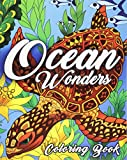 img - for Ocean Coloring Book: An Adult Coloring Book Featuring Relaxing Ocean Scenes, Tropical Fish and Beautiful Sea Creatures book / textbook / text book