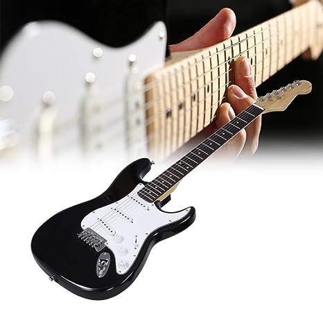 Guitarra eléctricas, 39 Pulgadas Guitarra Electrica 6 Cuerdas ...