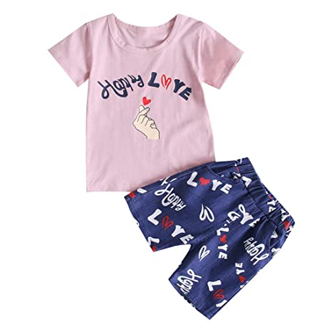 Fineser Toddler Little Boys Cartoon Print Short Sleeve T-Shirt Tops Kids Summer Casual Tee for 2-7T