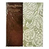 Tommy Bahama Island Memory Green Floral Cotton Shower Curtain by Tommy Bahama