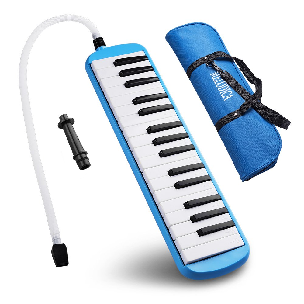 Melodica, Frunsi 32 Key Melodica Instrument, Easy to Play Musical Instrument for Children with Carry Bag