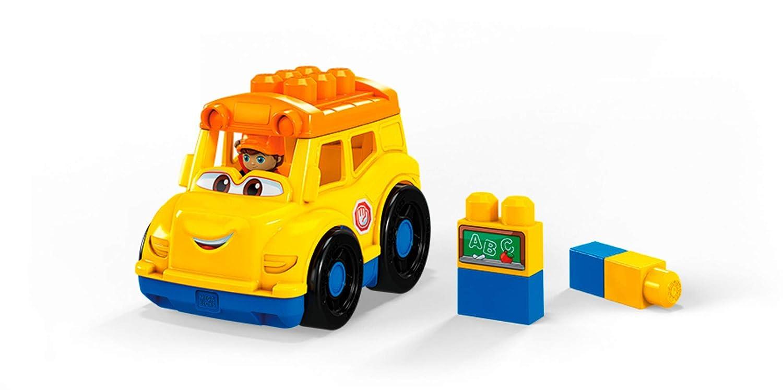 Mega Bloks School Bus Buliding Set Mattel GCX10