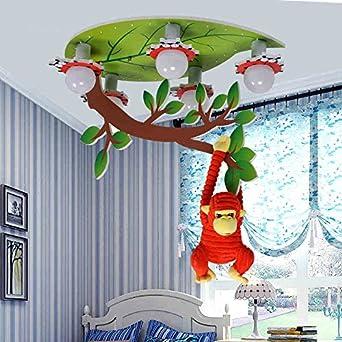 Kinder-Deckenleuchten-- Jungen und Mädchen Kinderzimmer Lampen Augenschutz  LED-Beleuchtung Kinderzimmer Schlafzimmer Karikatur Decke --Efficiency:A+++  ...