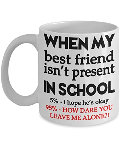 Best Friend Men Women Boys Girls Friendship Mug Christmas Gifts Coffee Funny 15