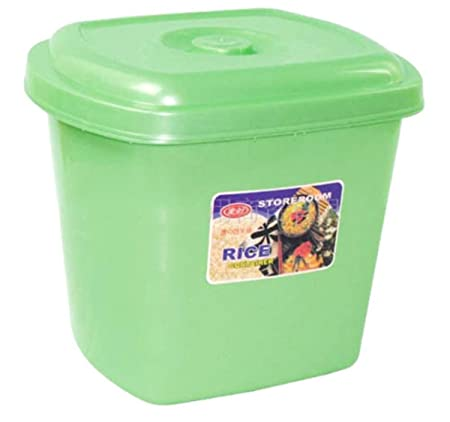 Ardisle 30L LARGE RICE FLOUR BIN CONTAINER DRY FOODS STORAGE KITCHEN