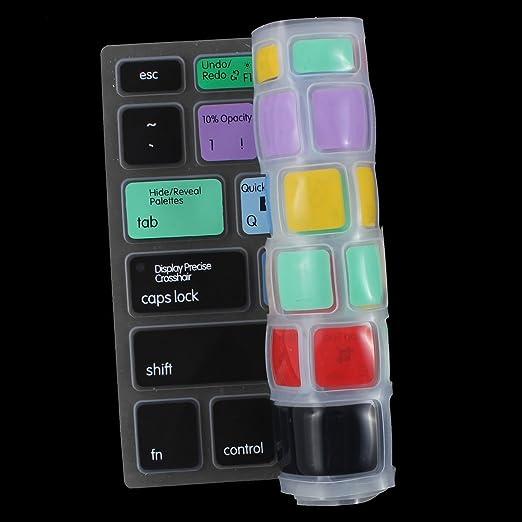 Amazon.com: eDealMax PS Tecla de acceso directo de impresión cubierta del teclado de protección Para el portátil DE 13 pulgadas: Electronics